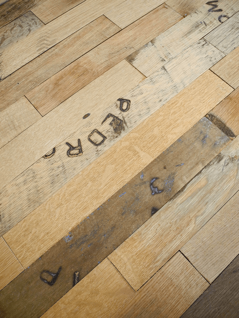 Whisky Barrel Flooring