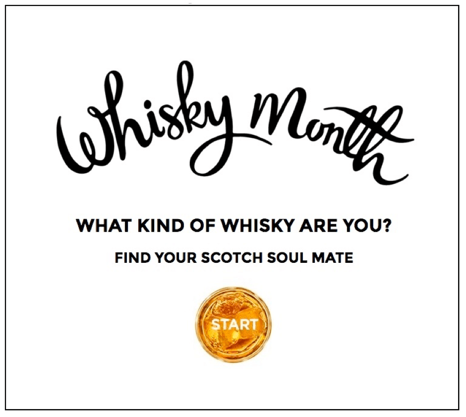 May 2016, Scotland's Whisky Month