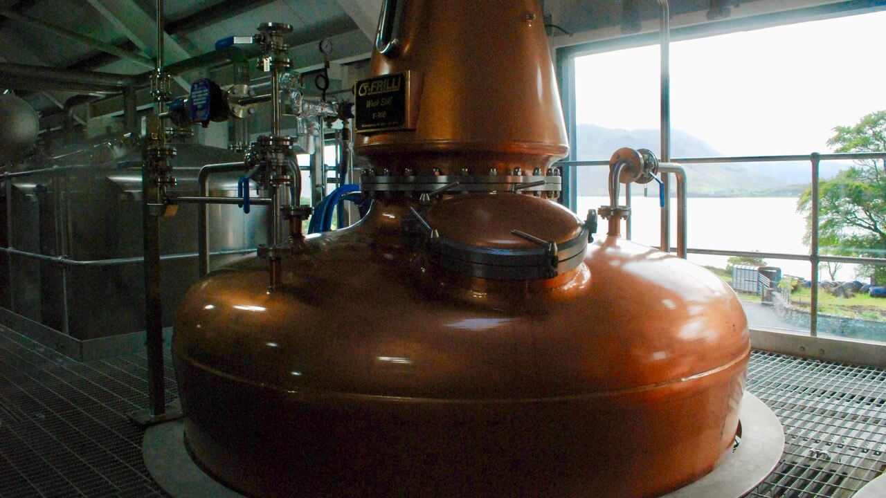 The wait is over - Isle of Raasay Distillery Starts Making Whisky