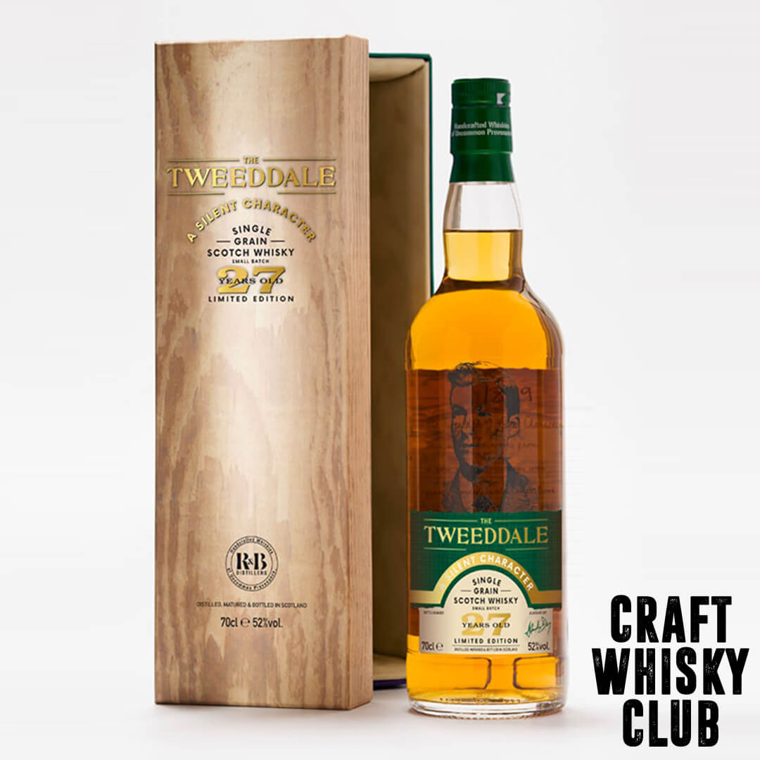 A Silent Character -  Tweeddale Celebrate Single Grain Whisky