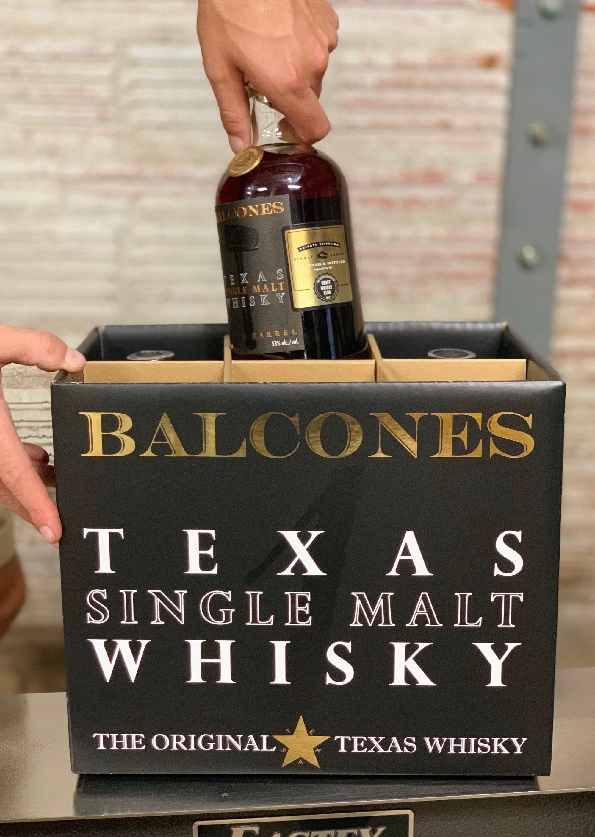 Everything's Better in Texas: Balcones Private Select Single Cask Exclusive to Craft Whisky Club
