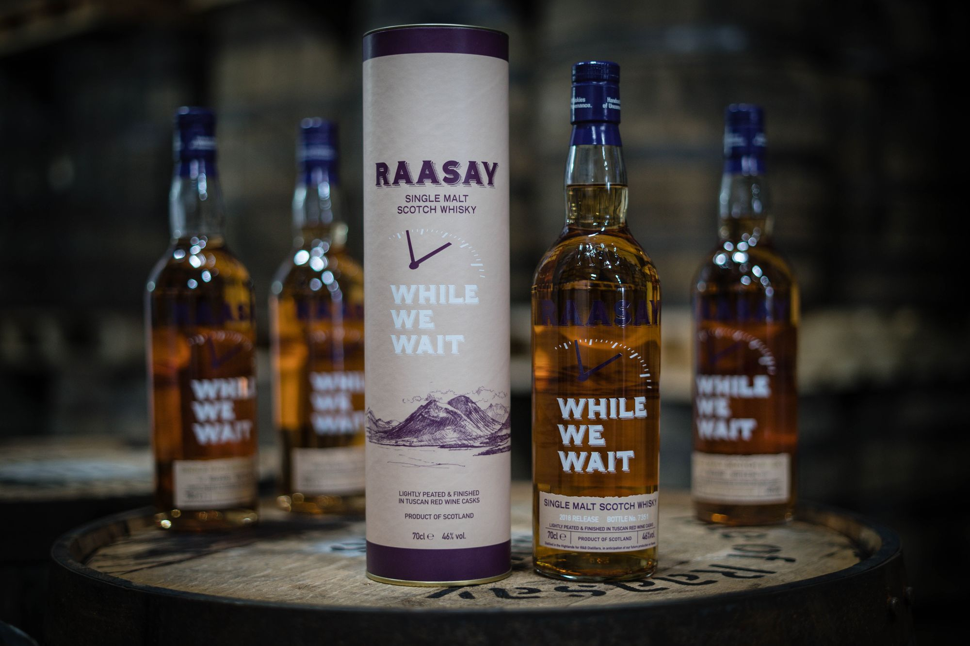 Raasay While We Wait launches in the US!